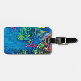 Queen Of the Sea Luggage Tag