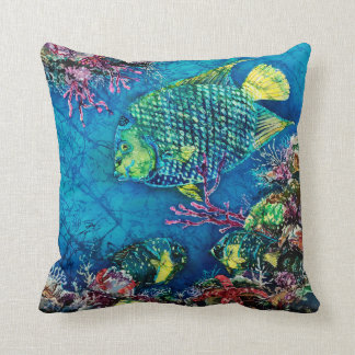 "Queen of the Sea Polyester Throw Pillow 16"" x 16"""