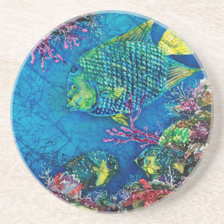 Queen of the Sea Sandstone Coaster