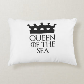 Queen of the Sea, #Sea Accent Pillow