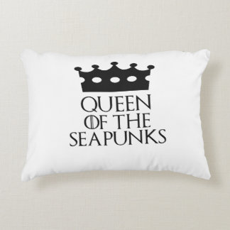 Queen of the Seapunks, #Seapunks Accent Pillow