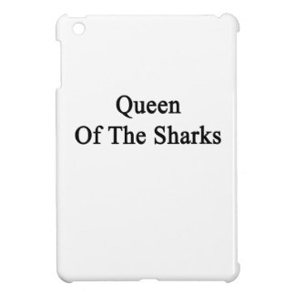 Queen Of The Sharks iPad Mini Cover