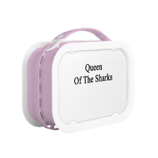 Queen Of The Sharks Lunch Box