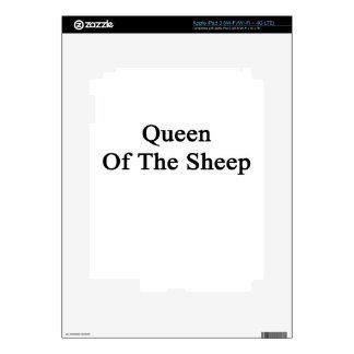 Queen Of The Sheep iPad 3 Skins
