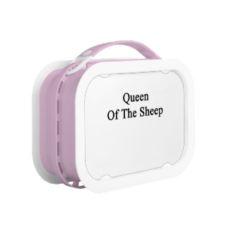 Queen Of The Sheep Lunch Box