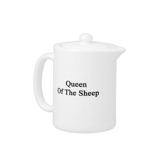 Queen Of The Sheep Teapot