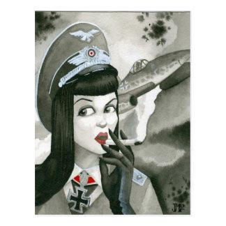 """Queen of the Skies"" Postcard"