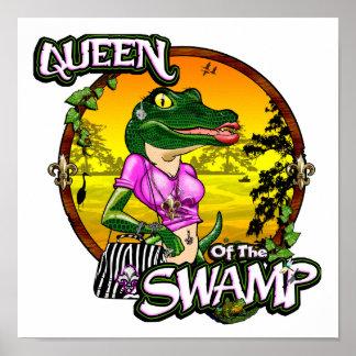 Queen Of The Swamp Print