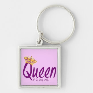 Queen of the Swap Meet Keychain