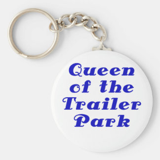 Queen of the Trailer Park Keychain