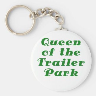 Queen of the Trailer Park Key Chains