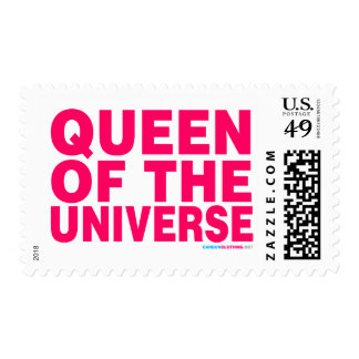 Queen Of The Universe Postage Stamps