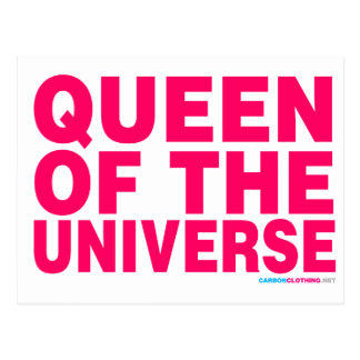 Queen Of The Universe Postcard