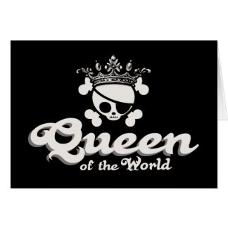 Queen of the World Card