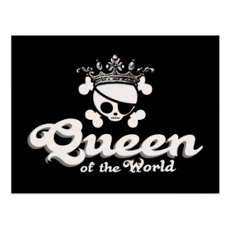 Queen of the World Postcard