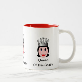 Queen of This Castle mug