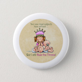 Queen of Twins - Big Sister button