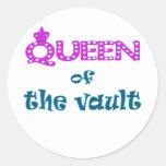 Queen of Vault Classic Round Sticker