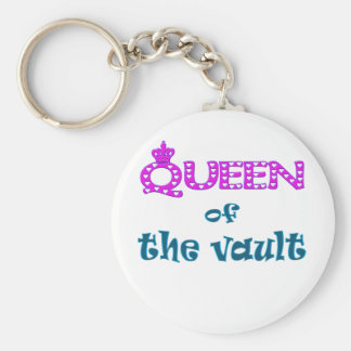 Queen of Vault Keychain
