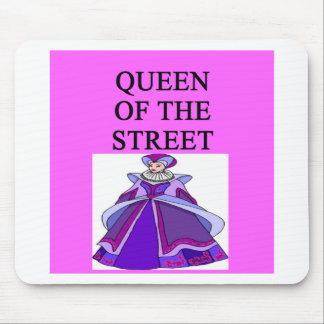 queen of wall street mouse pad
