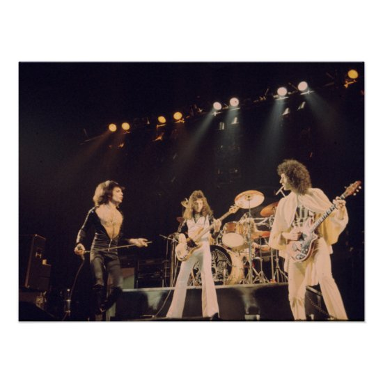Queen   On Stage Poster