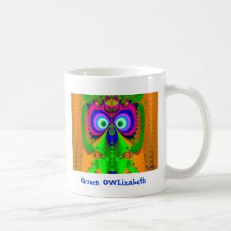 Queen OWLizabeth Coffee Mug