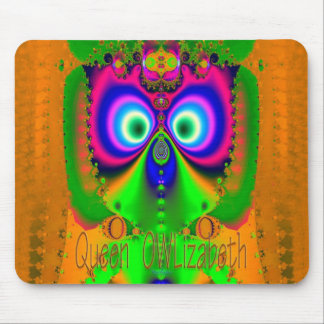 Queen OWLizabeth Mouse Pad
