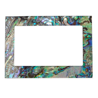 Queen paua shell magnetic frame