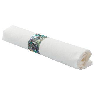 Queen paua shell napkin band