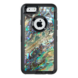 Queen paua shell OtterBox defender iPhone case