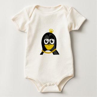 Queen Penguin Rompers