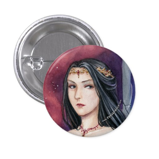 Queen Persephica Ickova of Thera 1 Inch Round Button