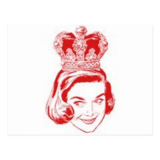 queen post cards
