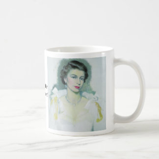 Queen, Queen, God Save Our Gracious Queen! Classic White Coffee Mug