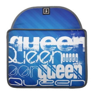 Queen; Royal Blue Stripes Sleeves For MacBook Pro