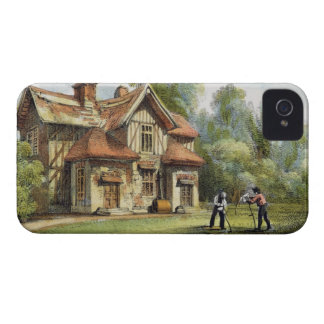 Queen s Cottage Richmond Gardens plate 17 from iPhone 4 Cover