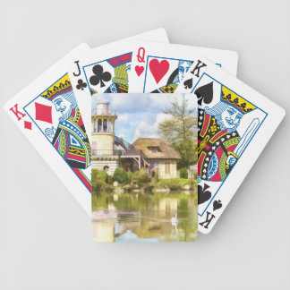 Queen's Hamlet, Versailles, France, Playing Cards