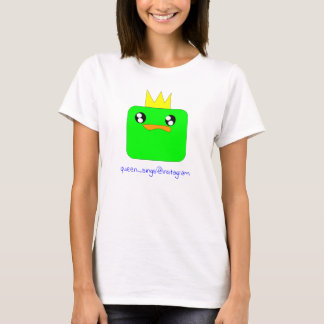 Queen Sausage Duck Sings the blue! T-Shirt