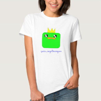 Queen Sausage Duck Sings the blue! T-shirts