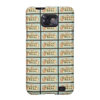 Queen Seal Cigar Label Samsung Galaxy SII Case