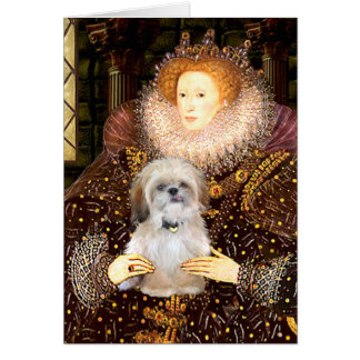 Queen - Shih Tzu (P) Greeting Cards