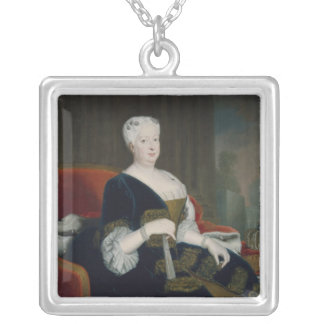 Queen Sophia Dorothea of Hanover Silver Plated Necklace