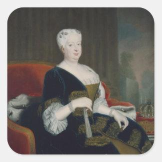 Queen Sophia Dorothea of Hanover Square Sticker