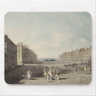 Queen Square, London, 1786 (w/c and pen and ink ov Mouse Pad