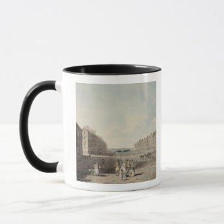 Queen Square, London, 1786 (w/c and pen and ink ov Mug