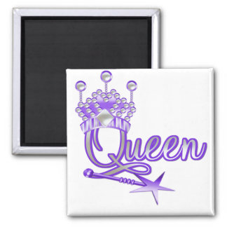 Queen T-shirts and Gifts 2 Inch Square Magnet