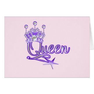 Queen T-shirts and Gifts Greeting Cards