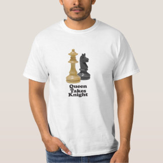 Queen Takes Knight - Value T-Shirt