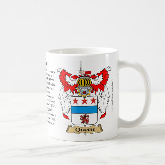 Queen, the Origin, the Meaning and the Crest Coffee Mugs
