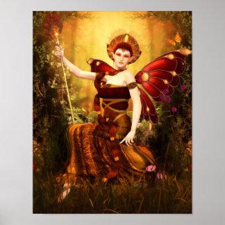Queen Titania Canvas/Poster Print